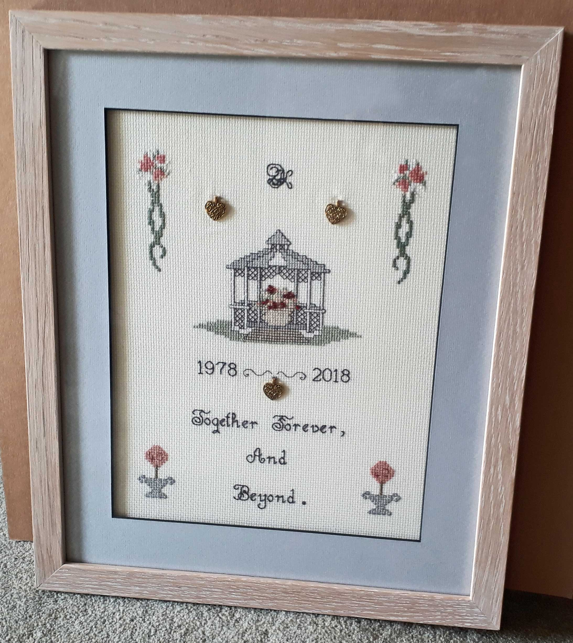 Cross Stitch Framing in Retford
